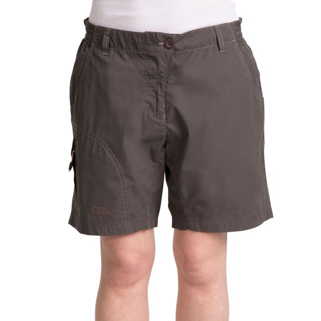 Elinda Women's UV Resistant Trekking Shorts in Khaki