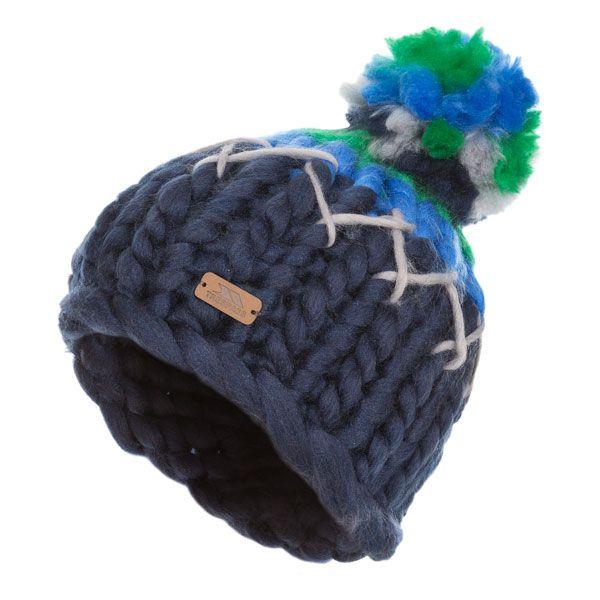 Ellery Kids' Bobble Hat in Blue