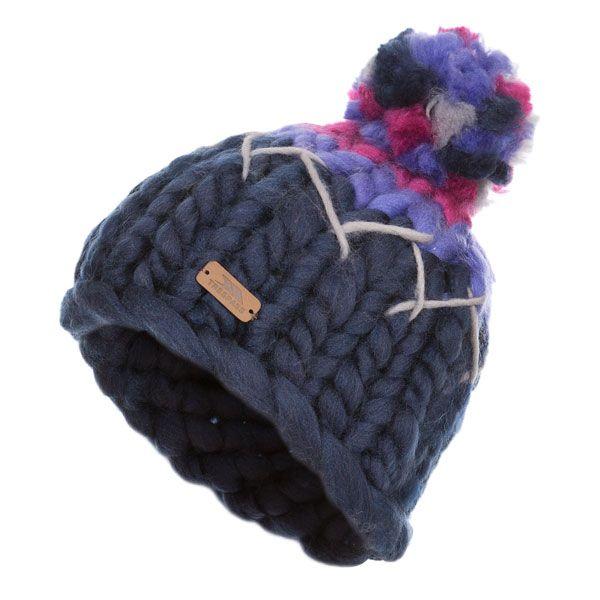 Ellery Kids' Bobble Hat in Purple