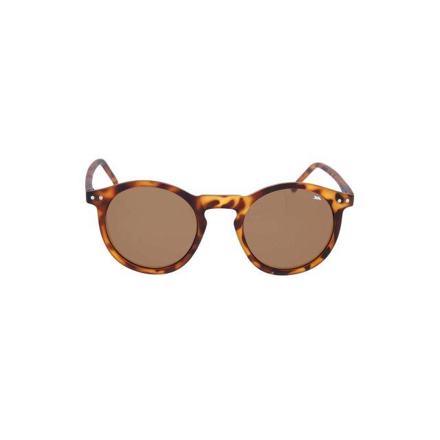 Elta Unisex Sunglasses in Brown