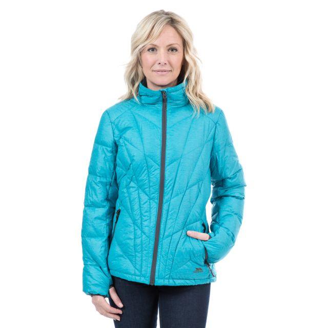 Emanuela Women's Casual Down Ski Jacket in Teal