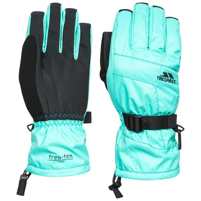 Embray Adults' Ski Gloves in Light Blue