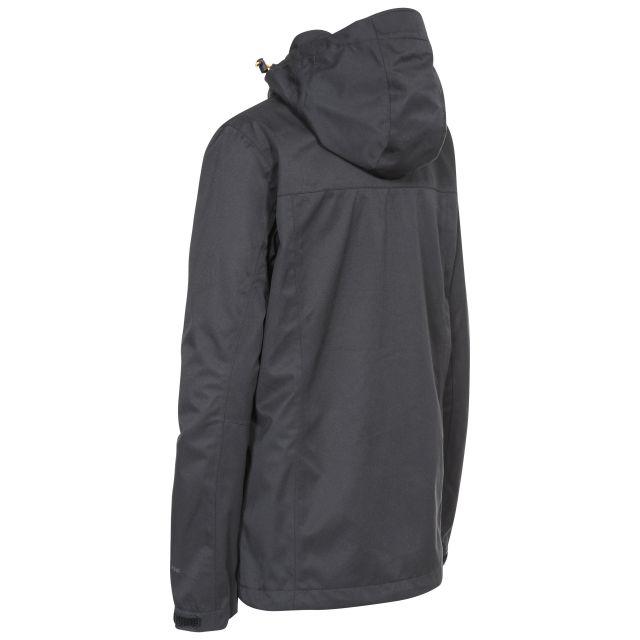 DLX Womens Waterproof Jacket with Hood Emeson in Black