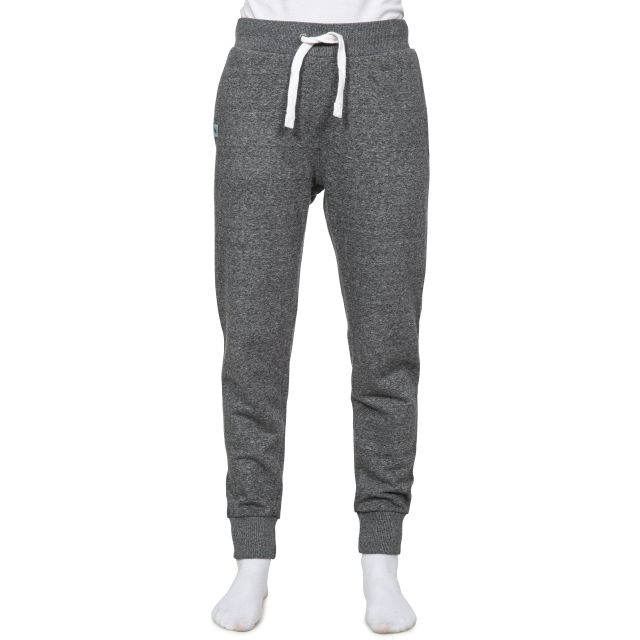 Emmylou Women's Knitted Tracksuit Bottoms in Grey