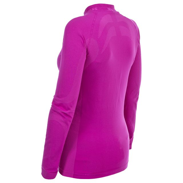 Endeavor Women's Long Sleeve Thermal T-Shirt in Pink