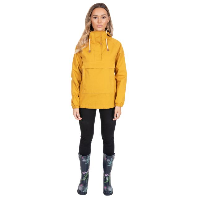 Entirely Women's Waterproof Jacket in Yellow
