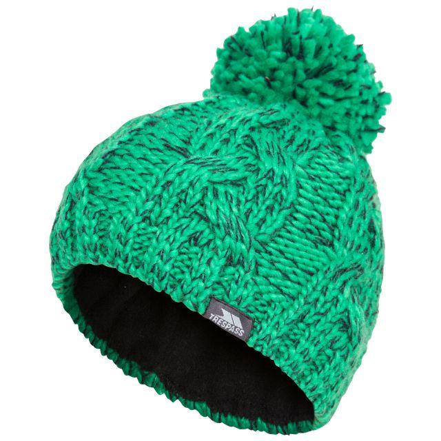 Epstein Kids' Bobble Hat in Green