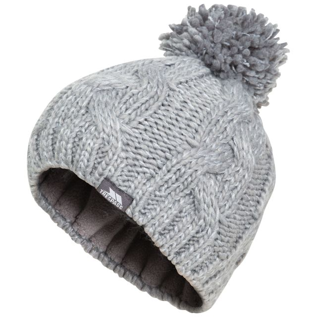 Epstein Kids' Bobble Hat in Grey