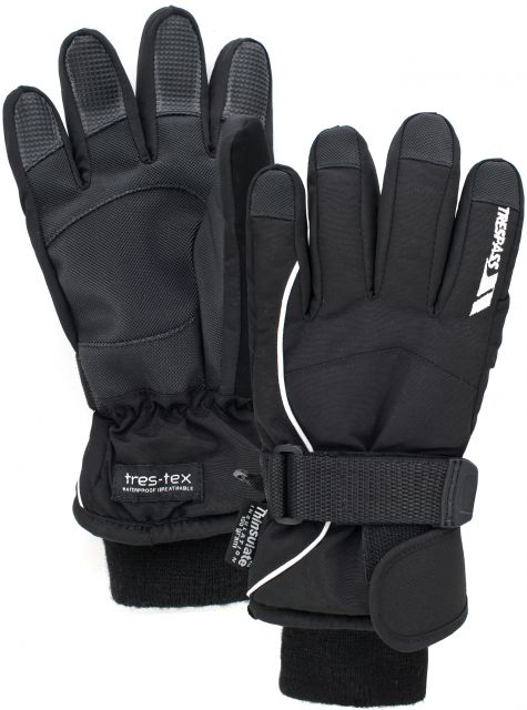 Ergon Kids' Ski Gloves in Black
