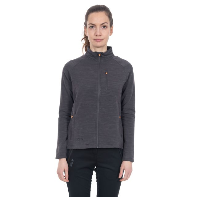 Erinn Women's DLX Quick Dry Fleece in Light Grey