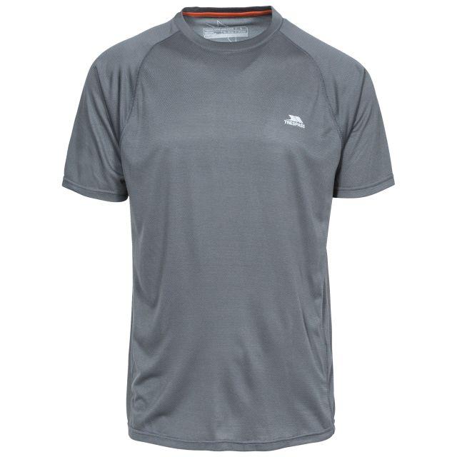 Esker Men's Quick Dry Active T-Shirt in Grey