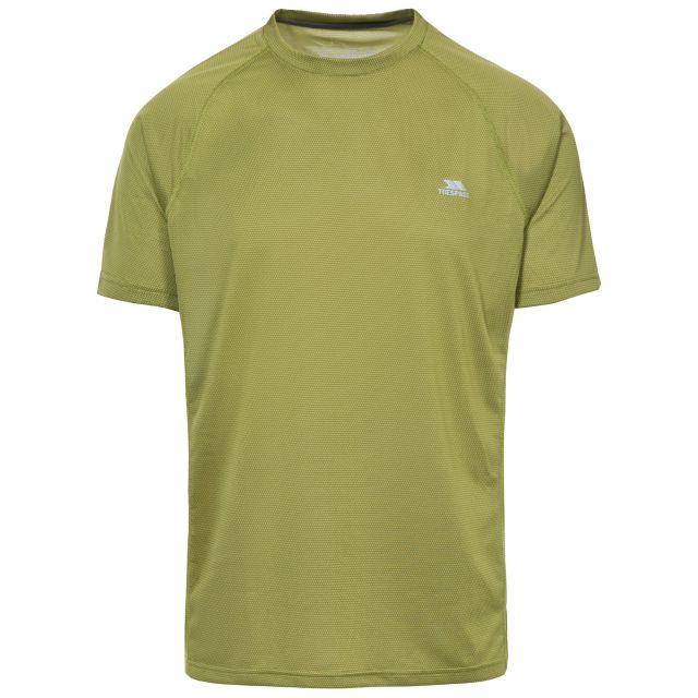 Esker Men's Quick Dry Active T-Shirt in Green