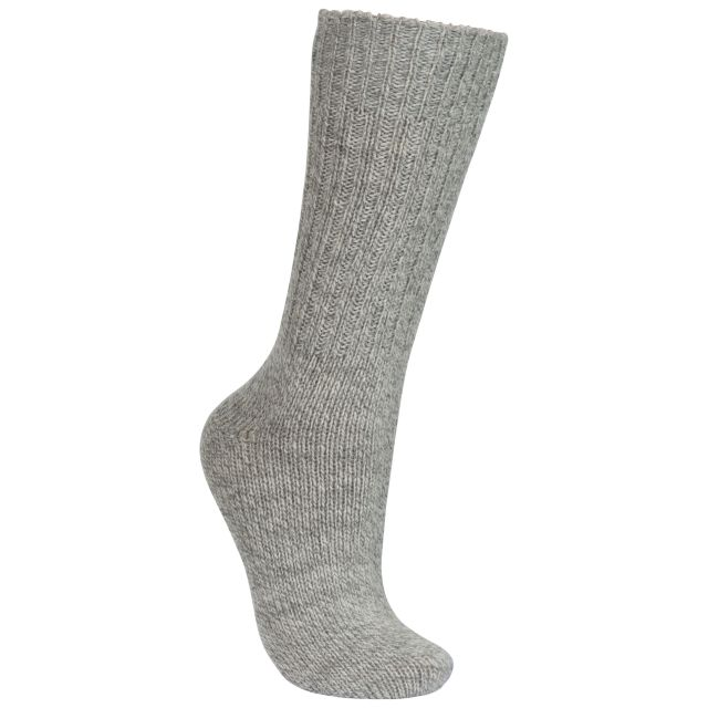 Espen Unisex Wool Blend Walking Socks in Beige