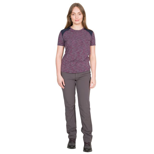 Etta Women's DLX Active T-Shirt in Red