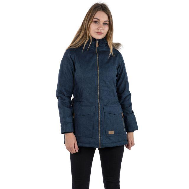 Everyday Women's Padded Waterproof Jacket in Navy