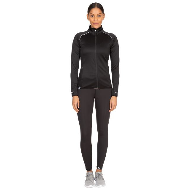 Evie Women's Active Jacket in Black