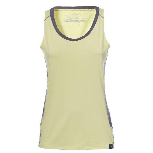 Tempo Women's Sleeveless Thermal T-Shirt in Yellow
