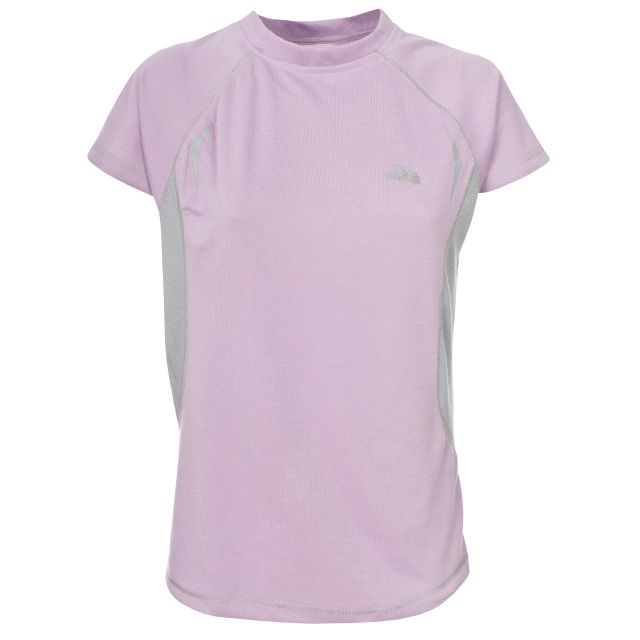 Emmie Women's Active T-shirt in Light Pink