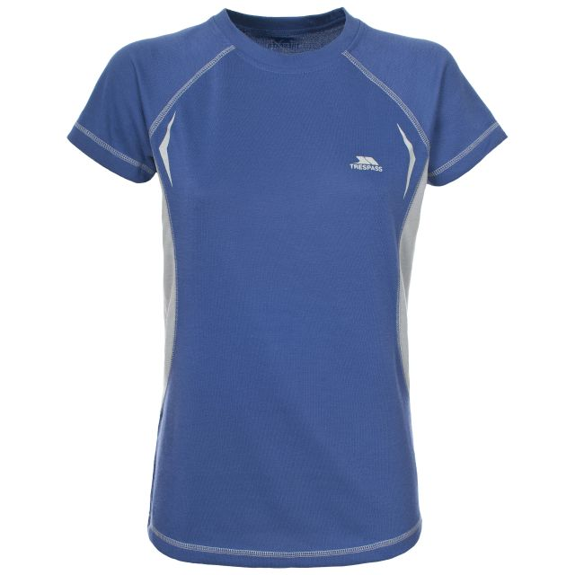 Emmie Women's Active T-shirt in Blue