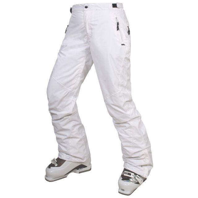 Hailey Womens  Ski Pants in White