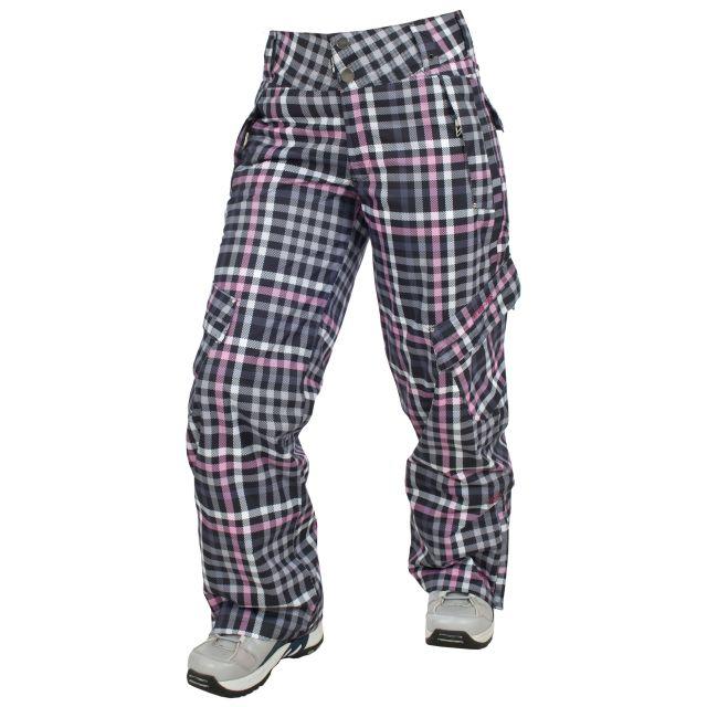 Halt Women's Pink Snow Pants in Pink