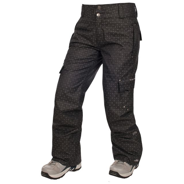 Ditch Womens Black Snow Pants in Black