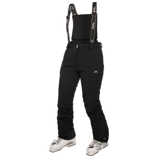 Jaylo Women's Black Ski Pants in Black