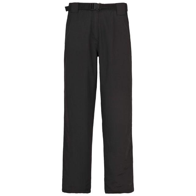 Janel Womens Waterproof Trousers in Black