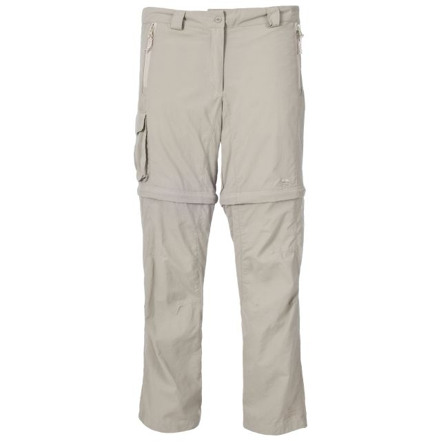 Sporran Women's Convertible Cargo Trousers in Beige