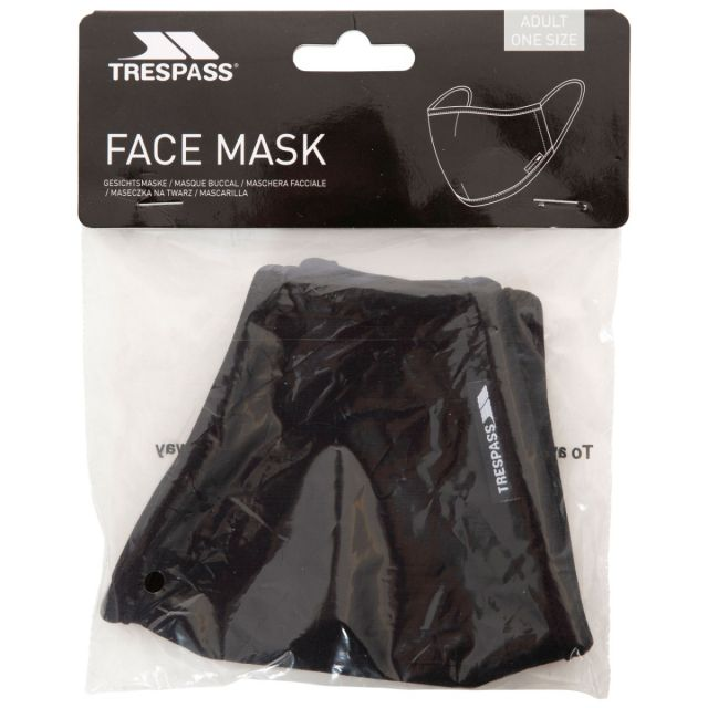 Adults Reusable Cotton Face Mask in Black