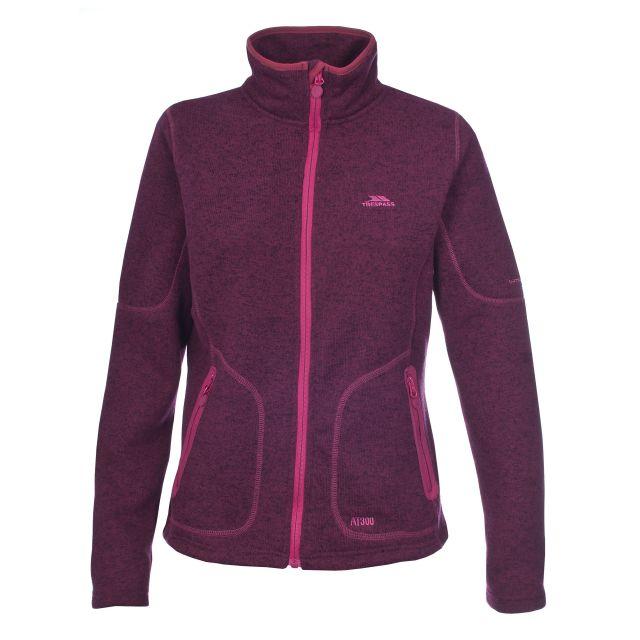 Cardigan Women's Fleece in Purple