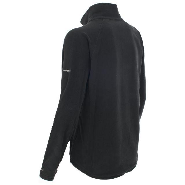 Shiner Women's Half Zip Microfleece in Black