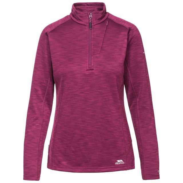 Fairford Women's 1/2 Zip Fleece in Purple