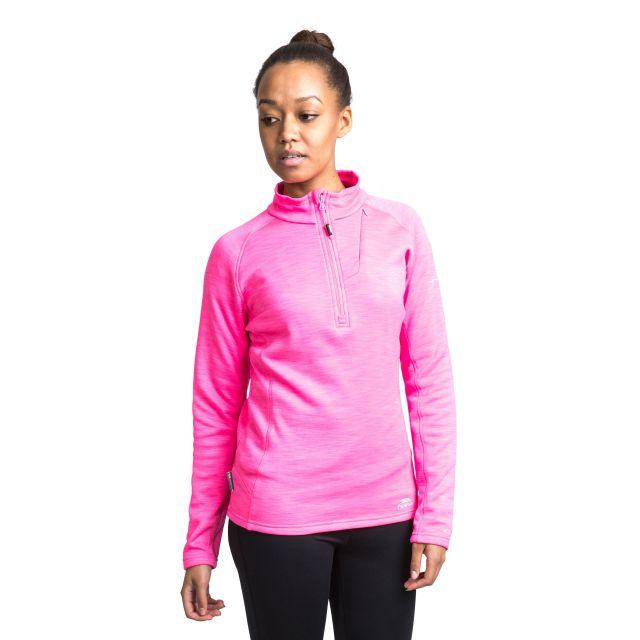 Fairford Women's 1/2 Zip Fleece in Pink