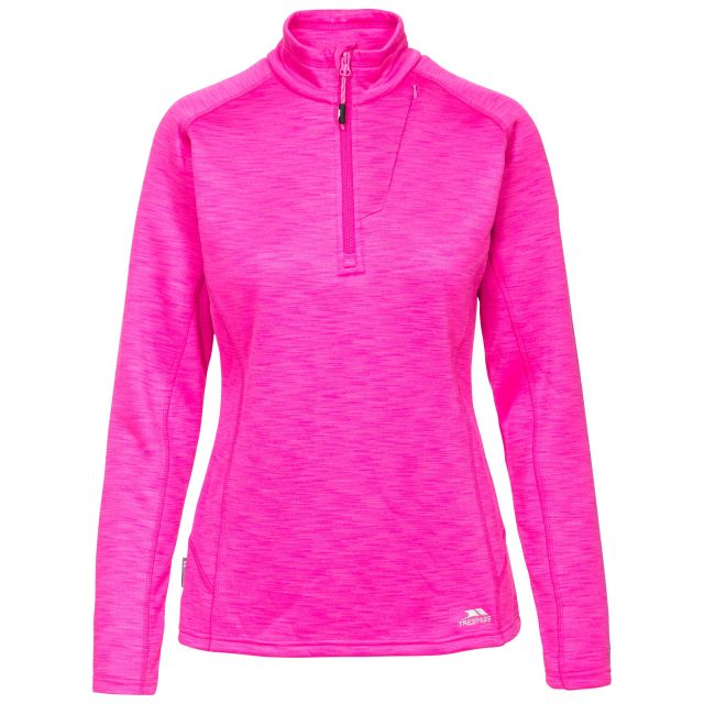 Fairford Women's 1/2 Zip Fleece in Pink