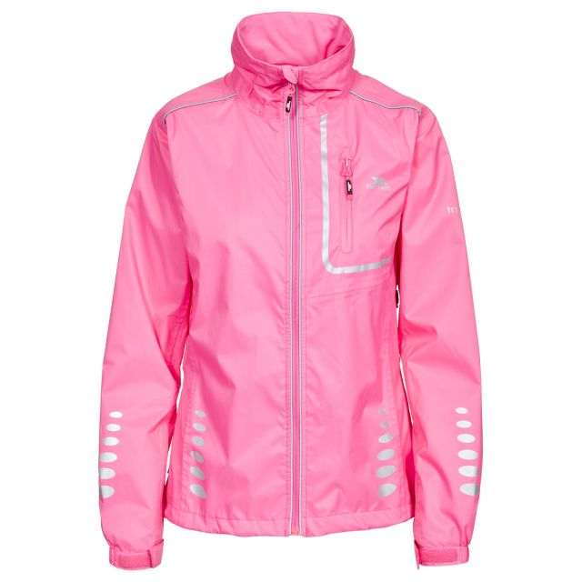 Trespass Womens Waterproof Jacket Breathable Fairing Pink