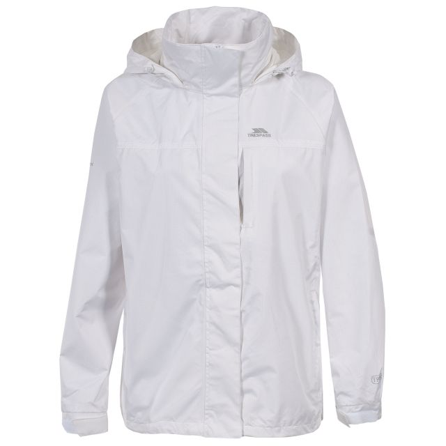 Lanna Womens Waterproof Jacket in White