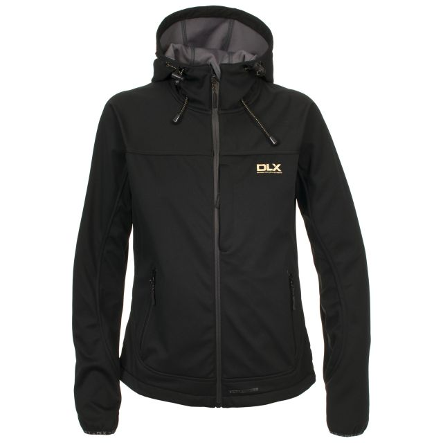 Thalia Women's DLX Softshell Jacket in Black