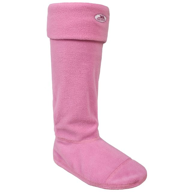 Snookie Women's Wellie Socks in Light Pink
