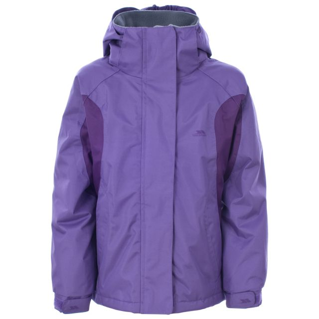 Itsy Girls Waterproof Jacket in Light Purple