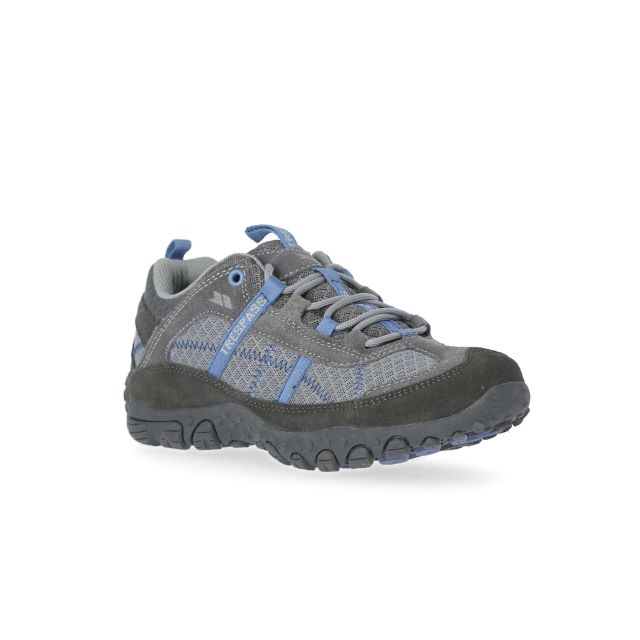 Fell Women's Breathable Walking Shoes in Grey