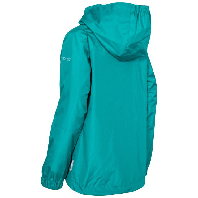 Fenna Kids' Waterproof Jacket in Green