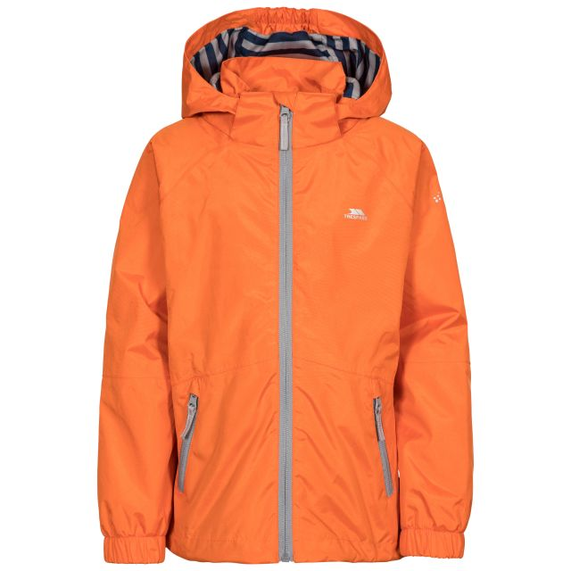 Fenna Kids' Waterproof Jacket in Orange