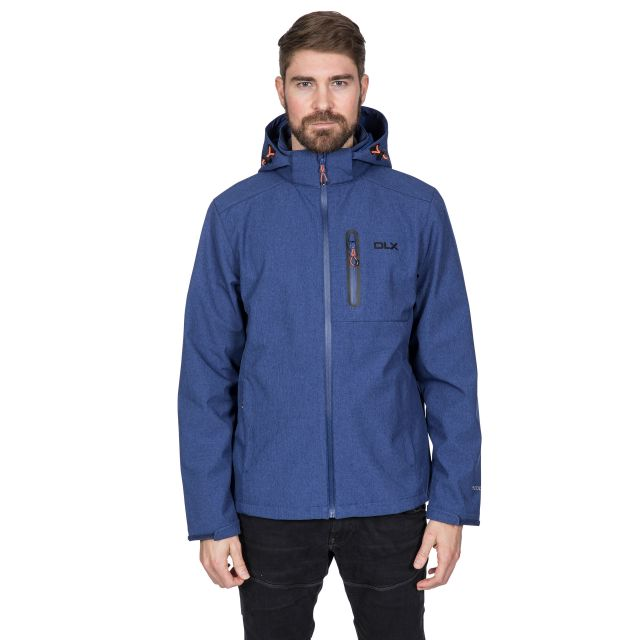 Ferguson II Men's DLX Breathable Softshell Jacket in Navy