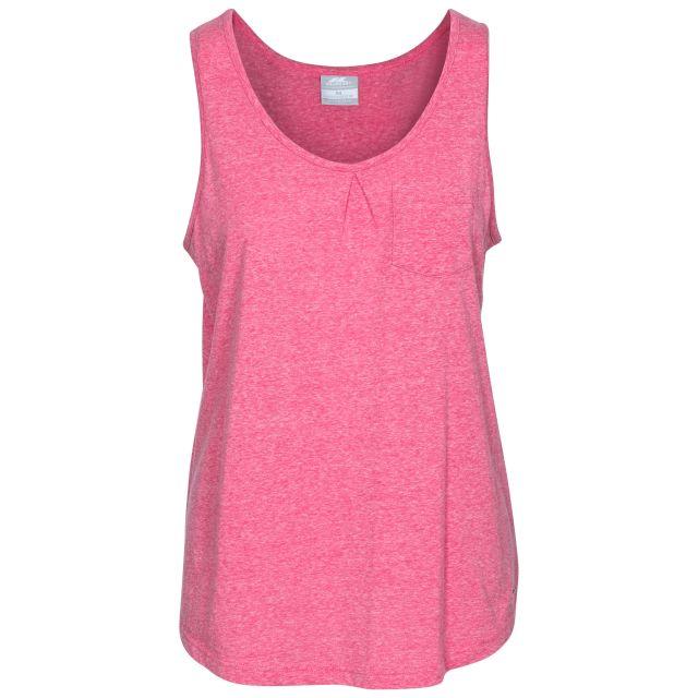 Fidget Women's Sleeveless T-Shirt in Pink