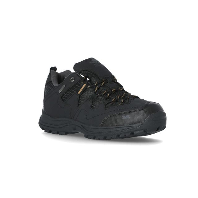 Finley Men's Walking Shoes in Black