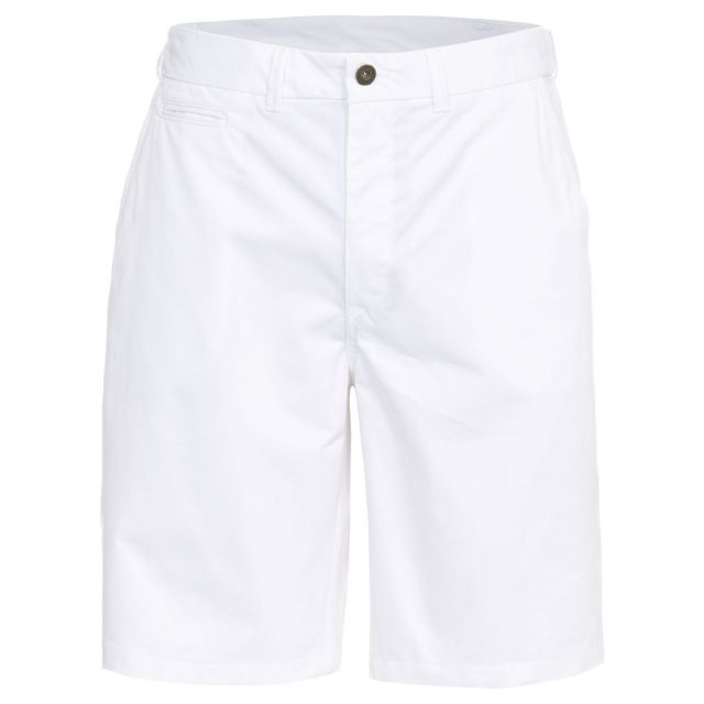 Firewall Men's Chino Shorts in White