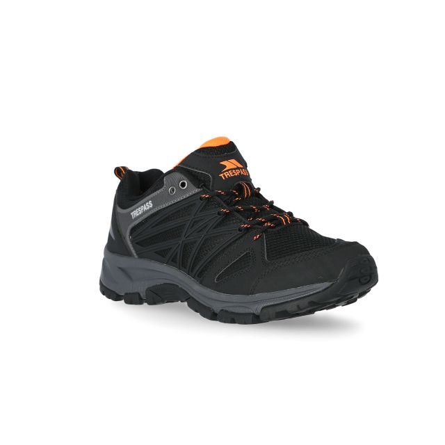 Fisk Men's Walking Shoes in Black
