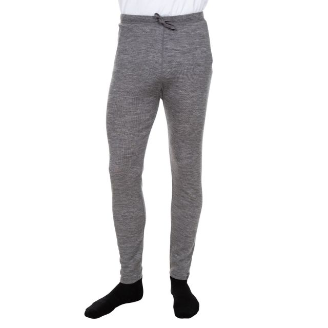Fitchner Men's DLX Merino Wool Thermal Trousers in Grey