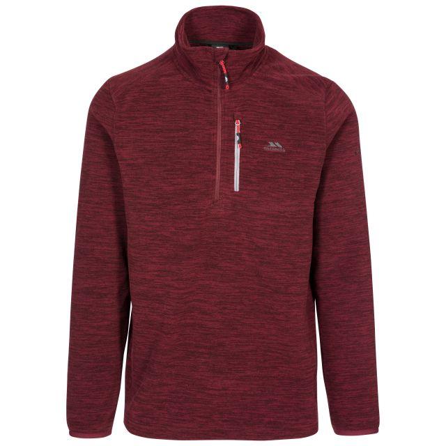 Flatlid Men's 1/2 Zip Fleece in Purple